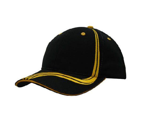 Cap 4099 black gold