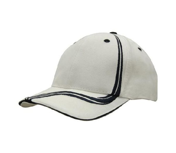Cap 4099 white navy