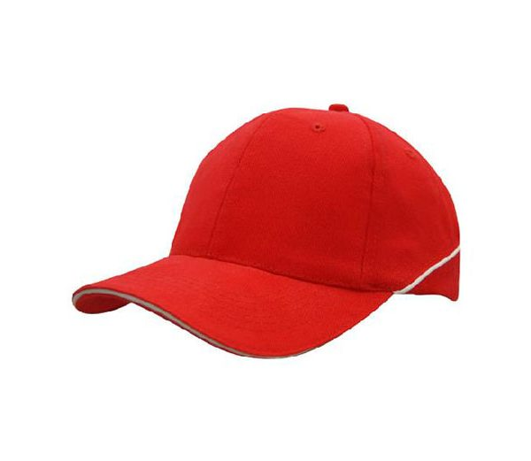 Cap 4103 red white