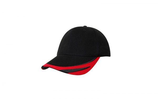 Cap 4072 black red