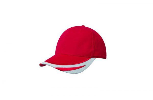 Cap 4072 red white