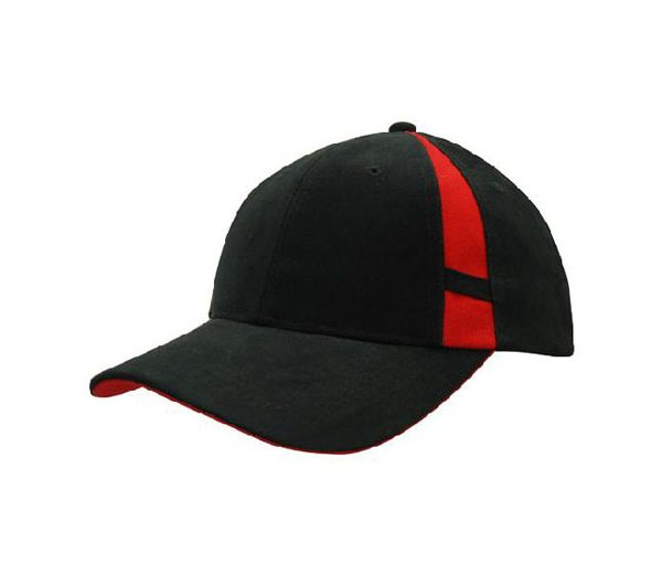 Cap 4096 black red