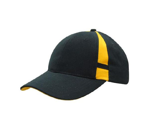 Cap 4096 navy gold