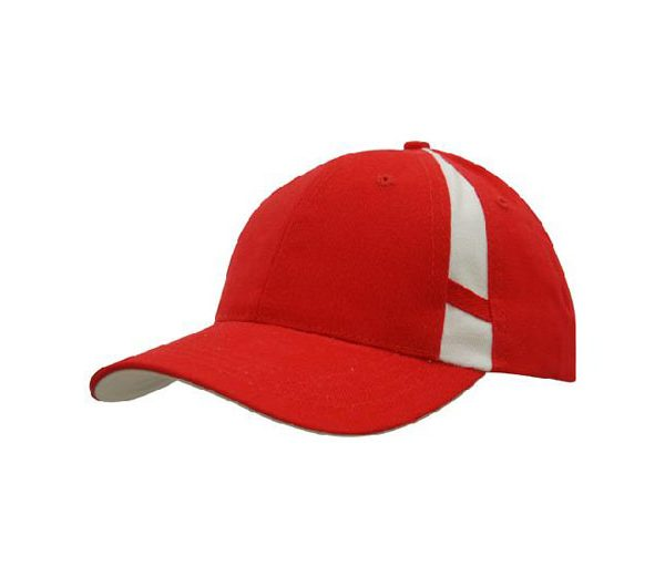 Cap 4096 red white