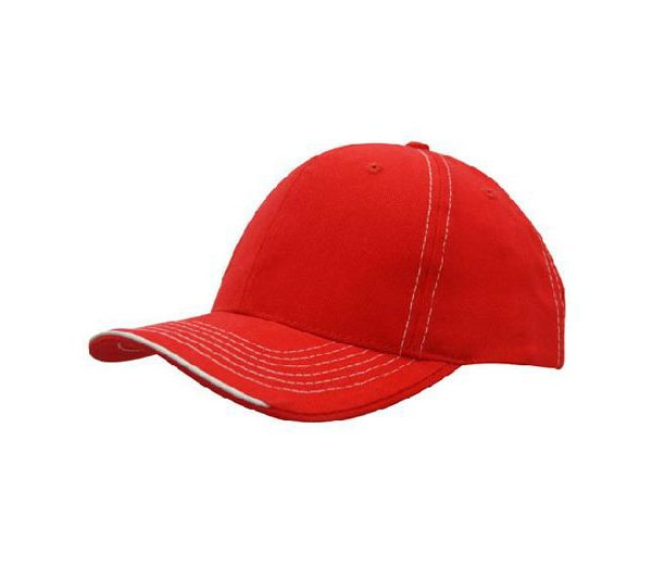 Cap 4097 red white