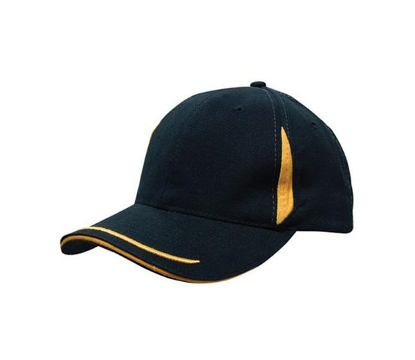 Cap 4098 black gold