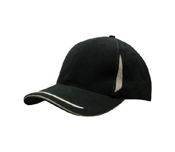 Cap 4098 black grey