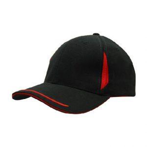 Cap 4098 black red