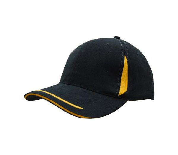 Cap 4098 navy gold