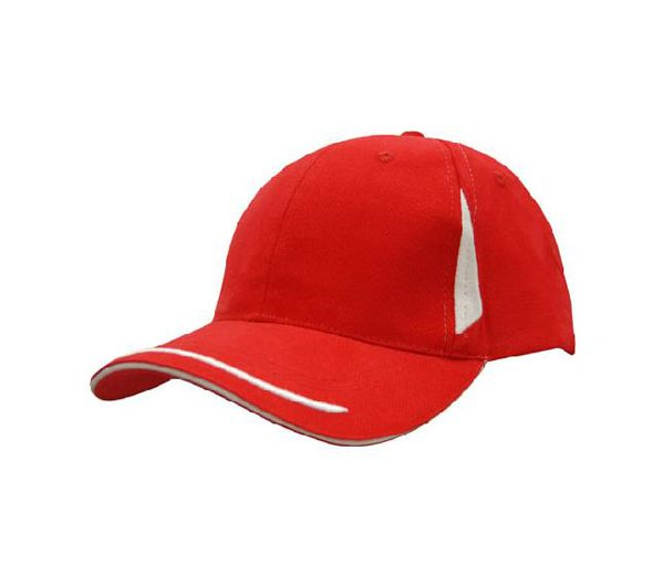 Cap 4098 red white