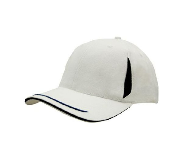 Cap 4098 white navy