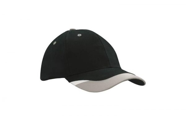 Cap 4125 black grey white