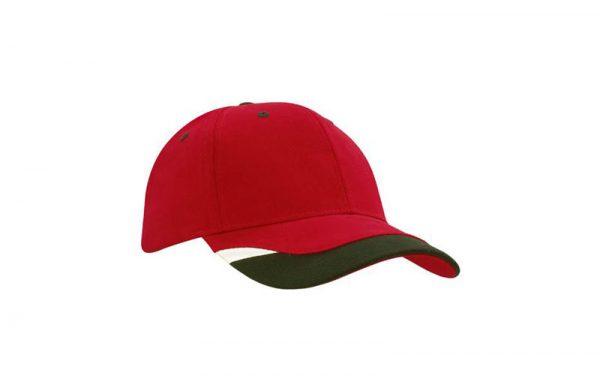 Cap 4125 red black white