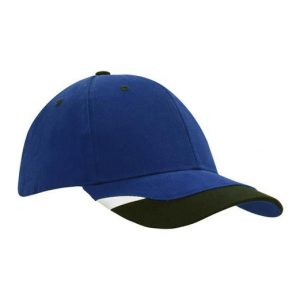 Cap 4125 royal black white
