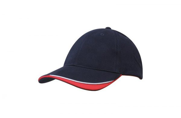 Cap 4167 navy white red